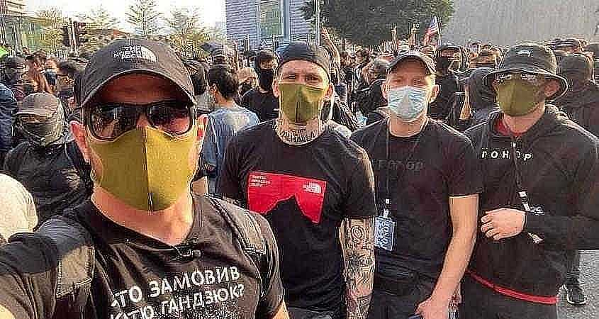Ukrainian Nazis in Hong Kong Victory or Valhalla