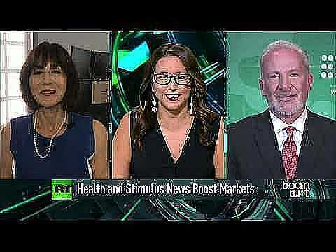 stimulus and trumps health moving markets