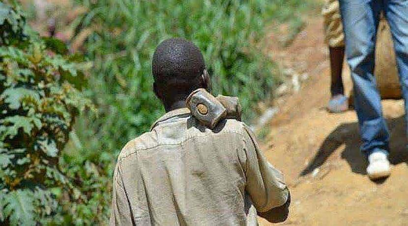 DRC artisanal miner BU3m32